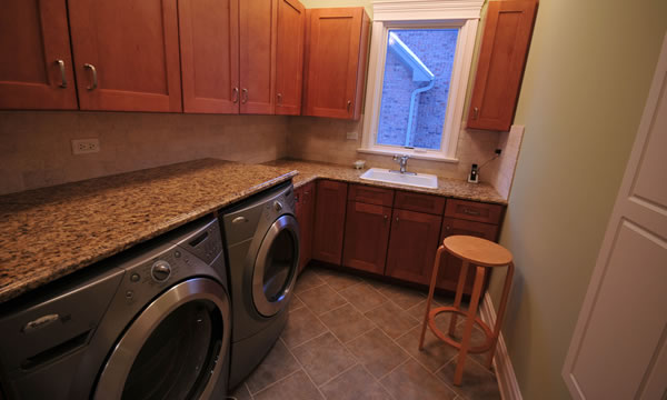 Laundry Room Plumber in Corona, California.