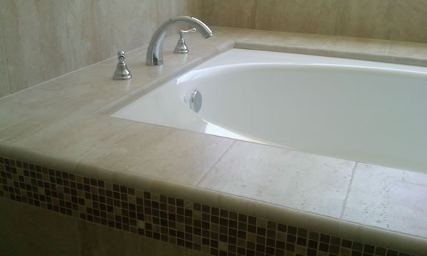 Tile or Stone Bathtub and Showers and Enclosures.