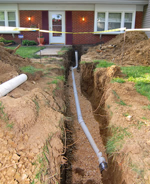 Sewer Line Excavations